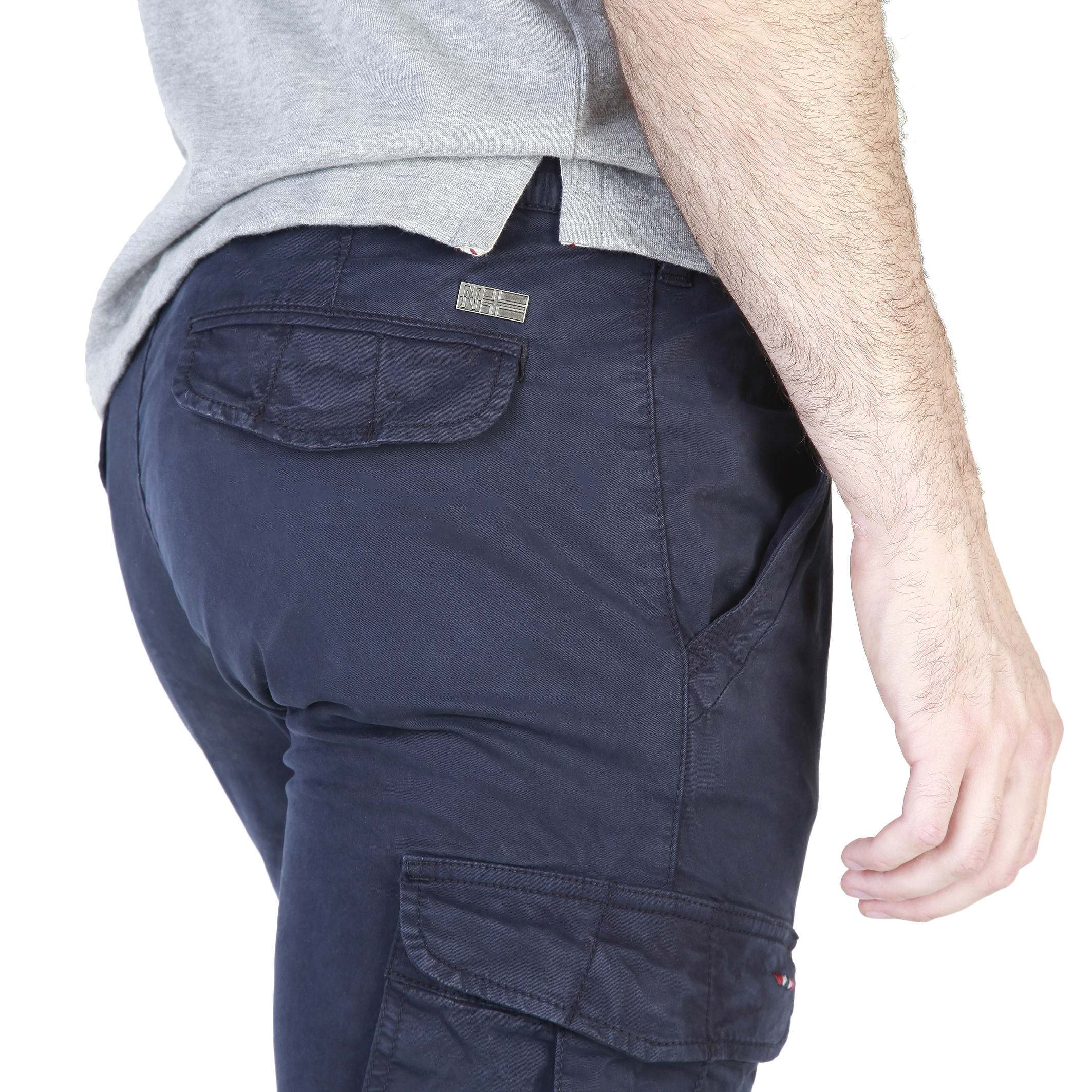 Pantalons  Napapijri N0YFFZ blue