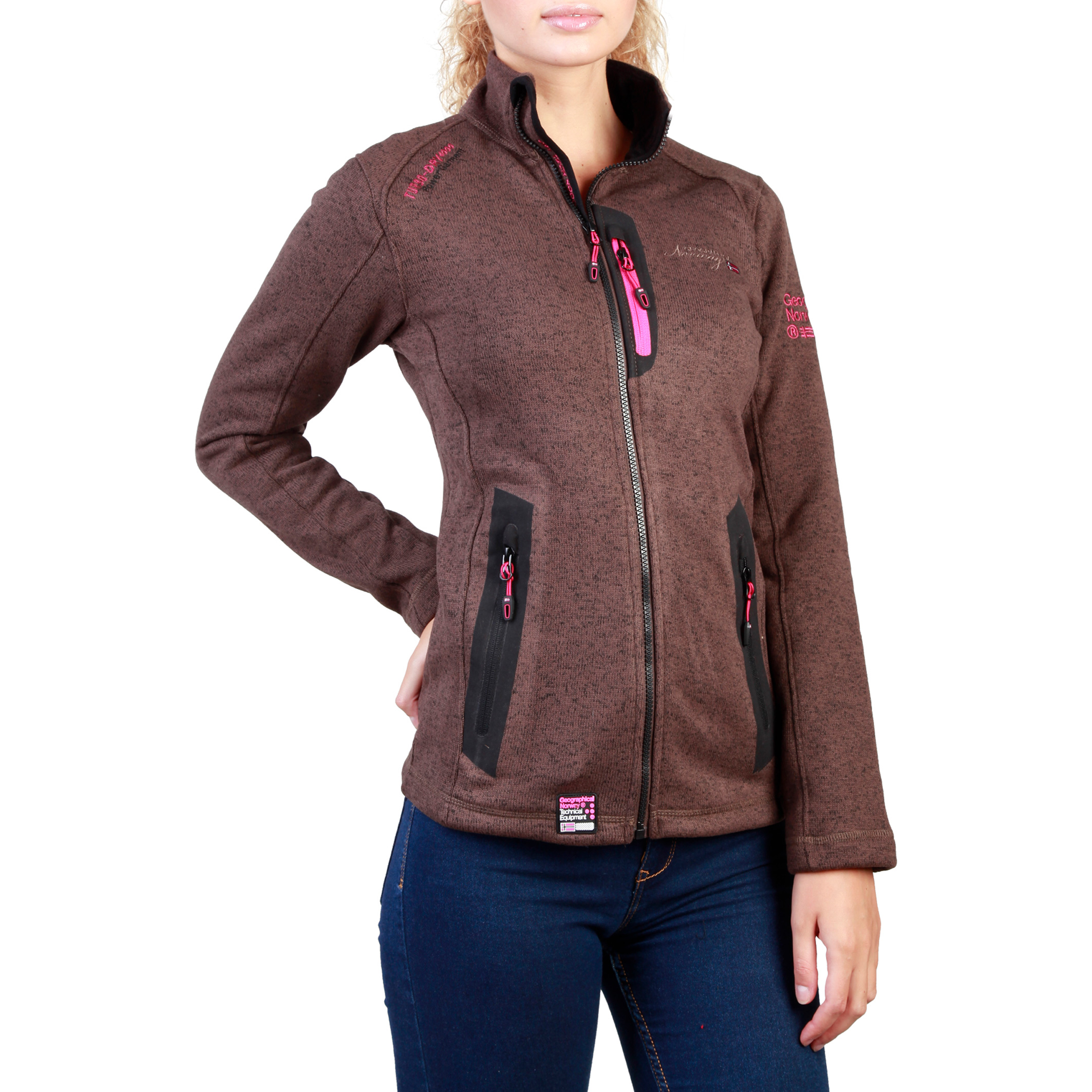Vestes & blousons  Geographical norway Tazzera_woman brown