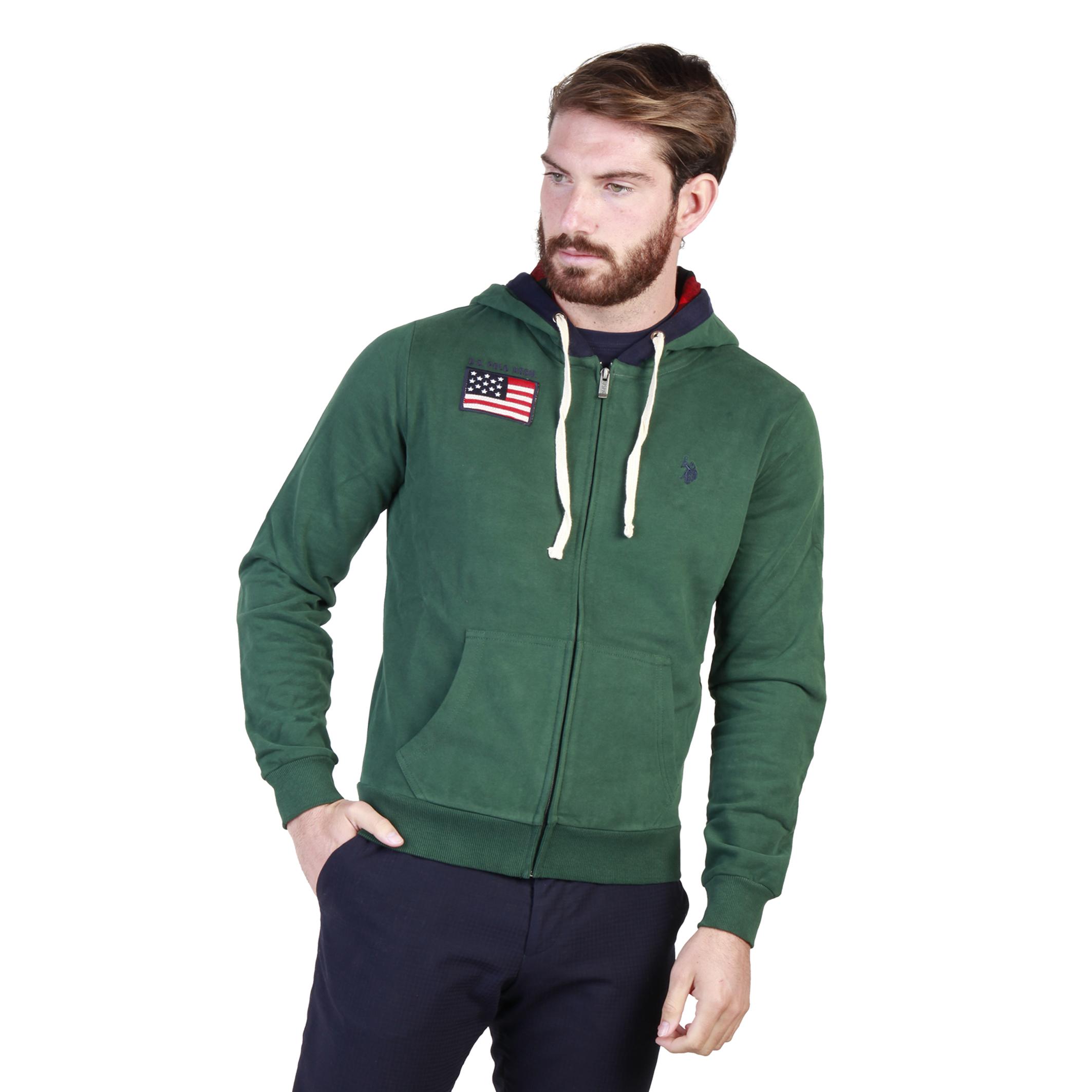 Vestes sport/streetwear  U.S. Polo 43482_47130 green