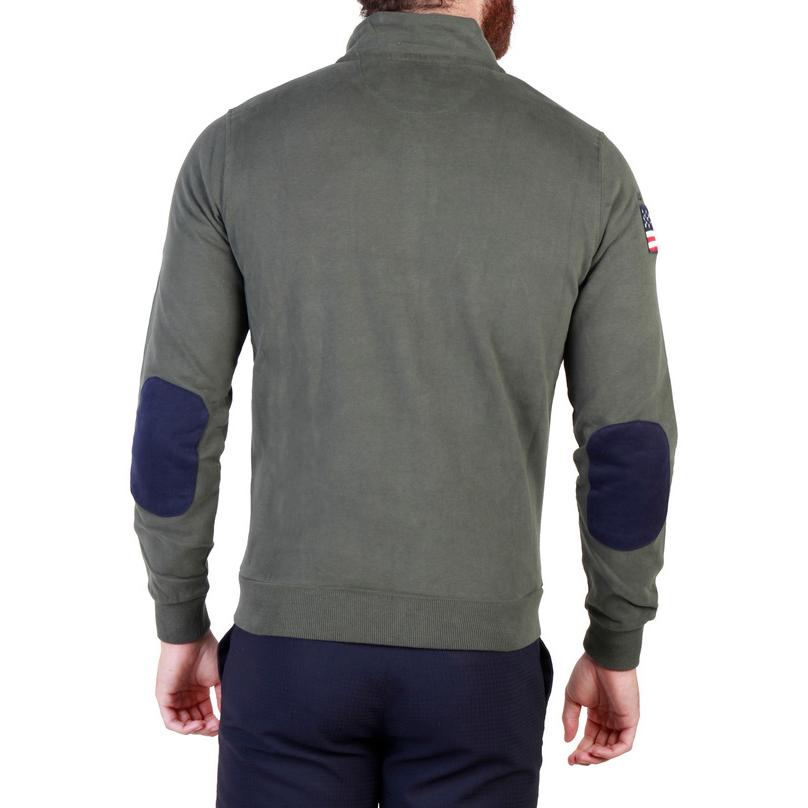 Vestes zippées  U.S. Polo 43485_47130 green
