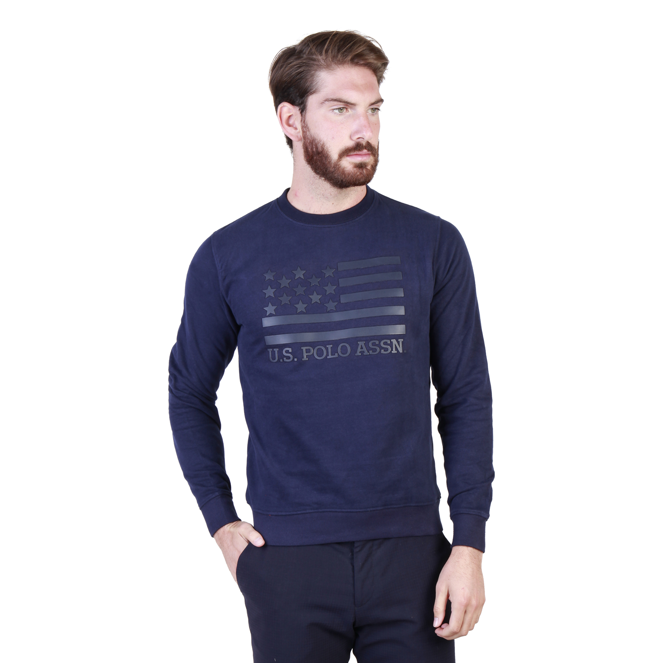 Sweatshirts  U.S. Polo 43486_47130 blue