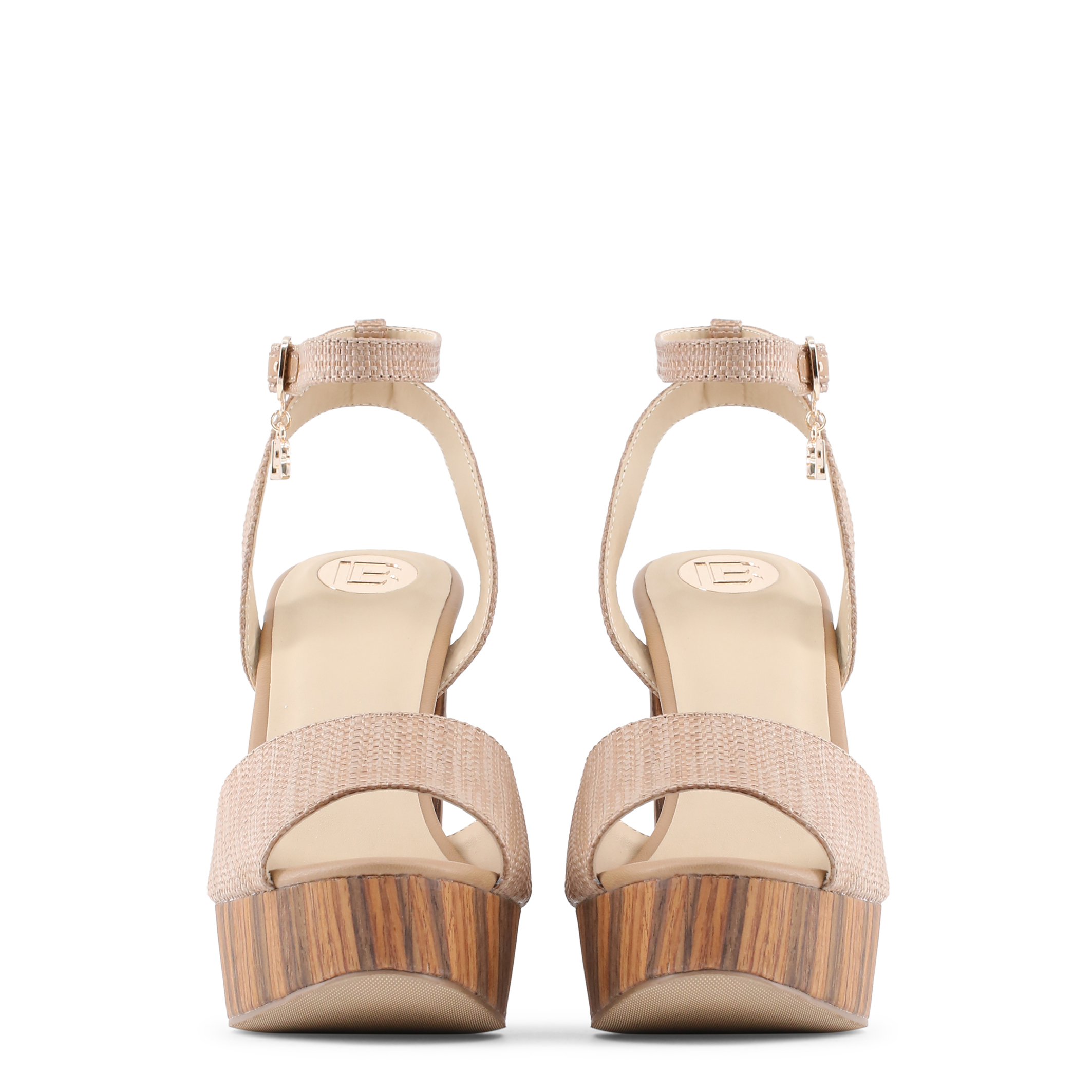 Chaussures  Laura Biagiotti 662_RAFIA brown