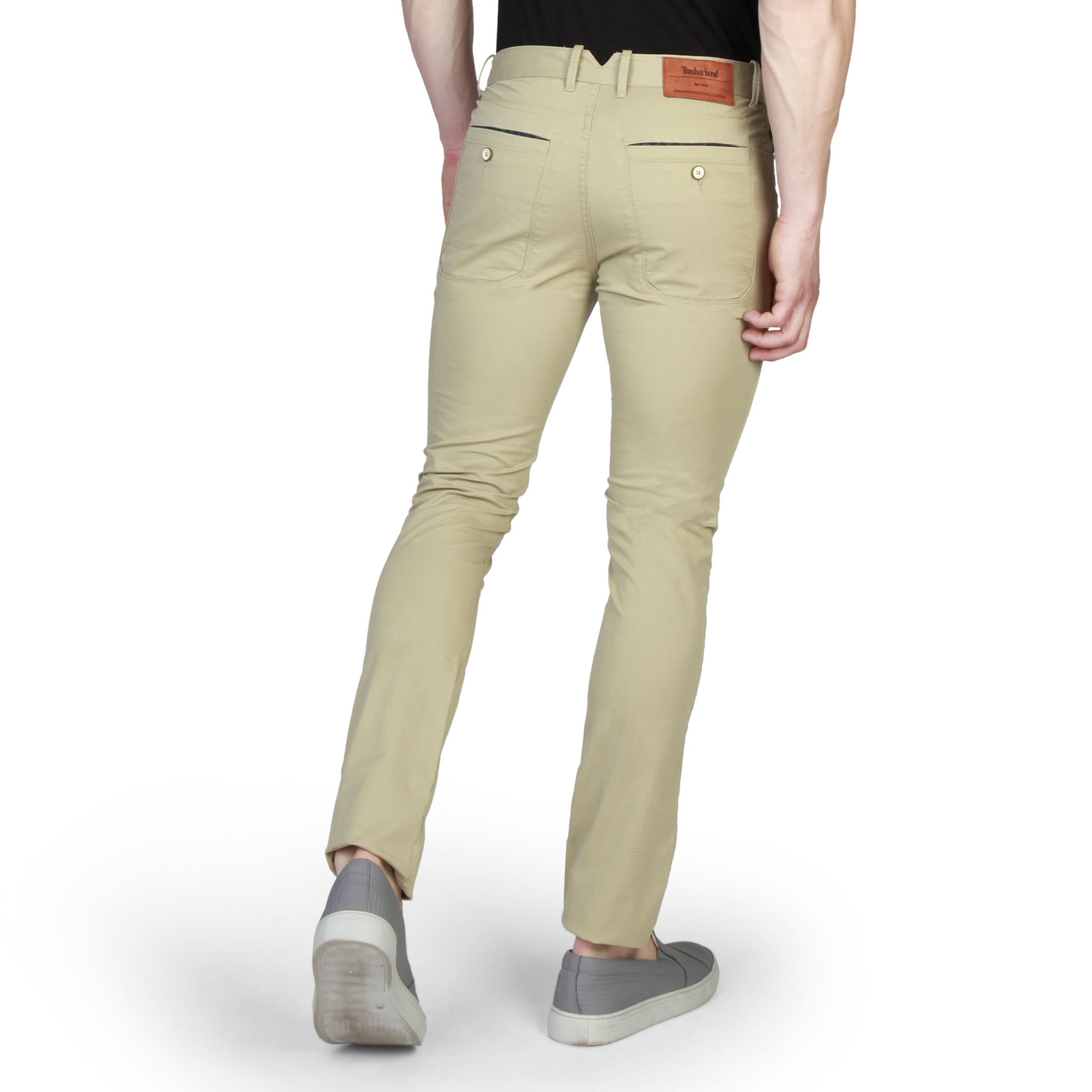 Pantalons chino/citadin  Timberland A1563 brown