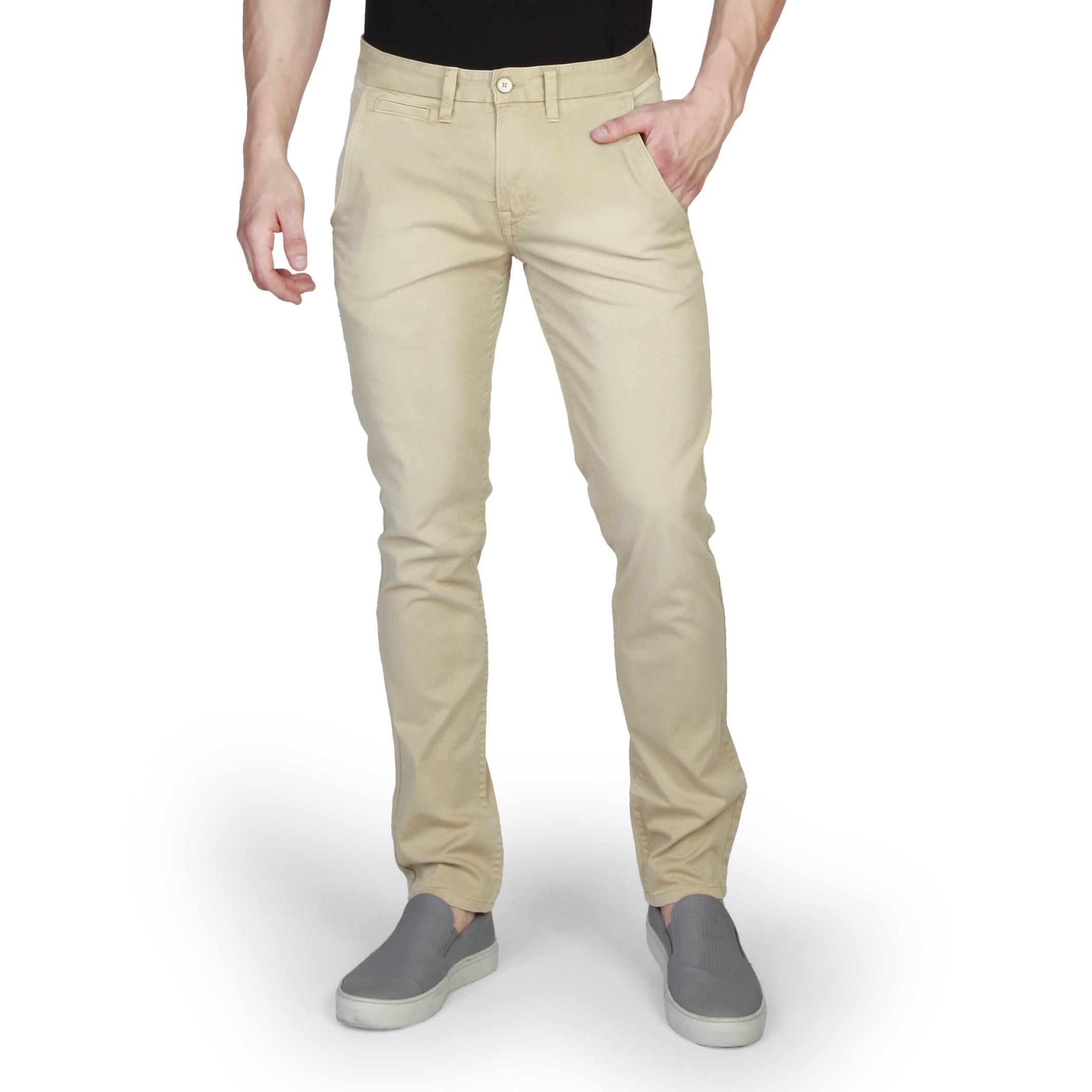 Pantalons chino/citadin  Timberland A156E_LENGTH_32 brown