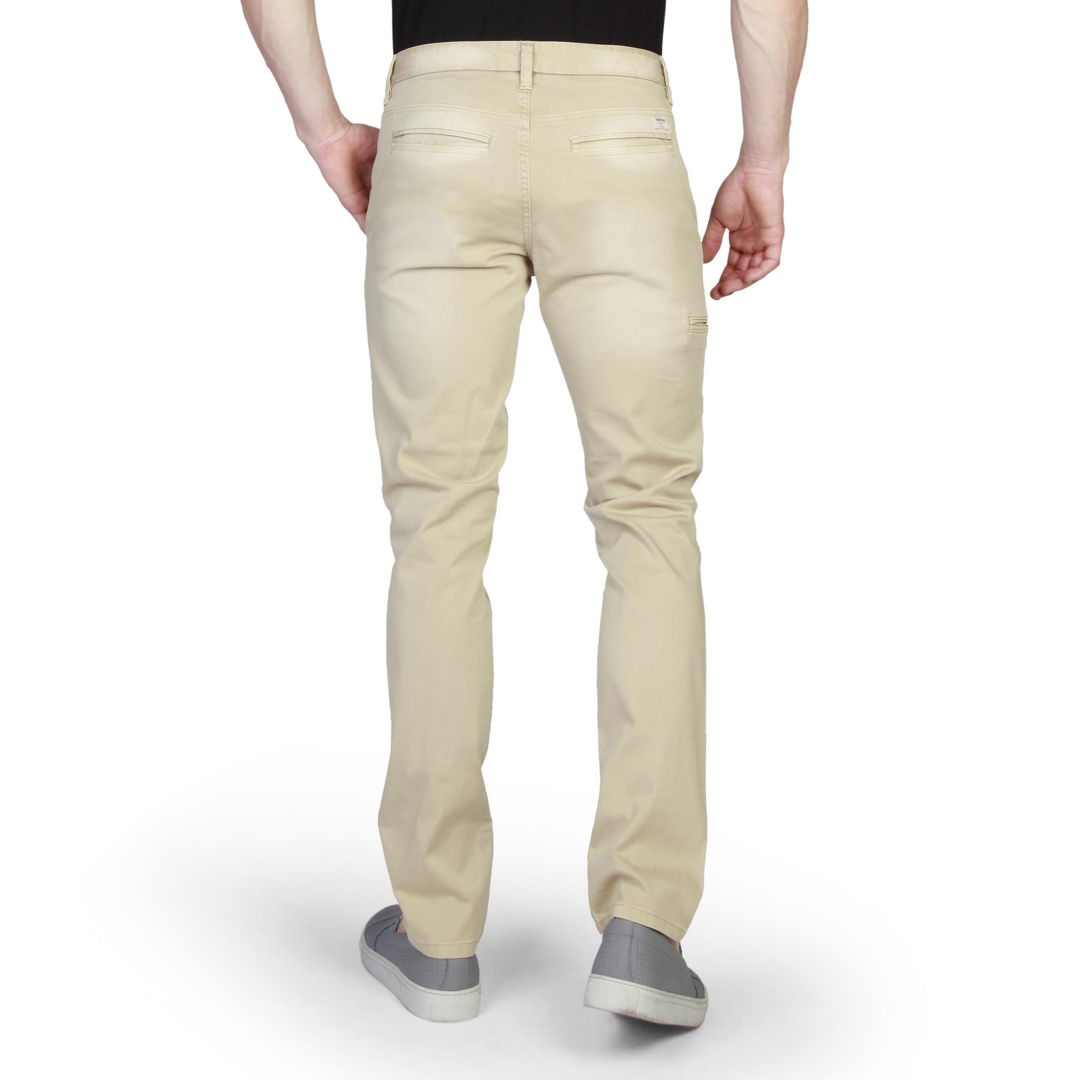 Pantalons chino/citadin  Timberland A156E_LENGTH_34 brown