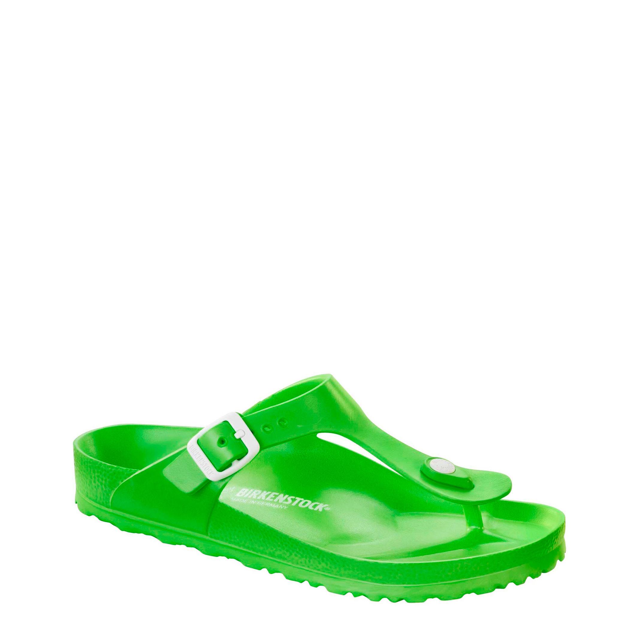 Tongs / Mules  Birkenstock GIZEH-EVA green