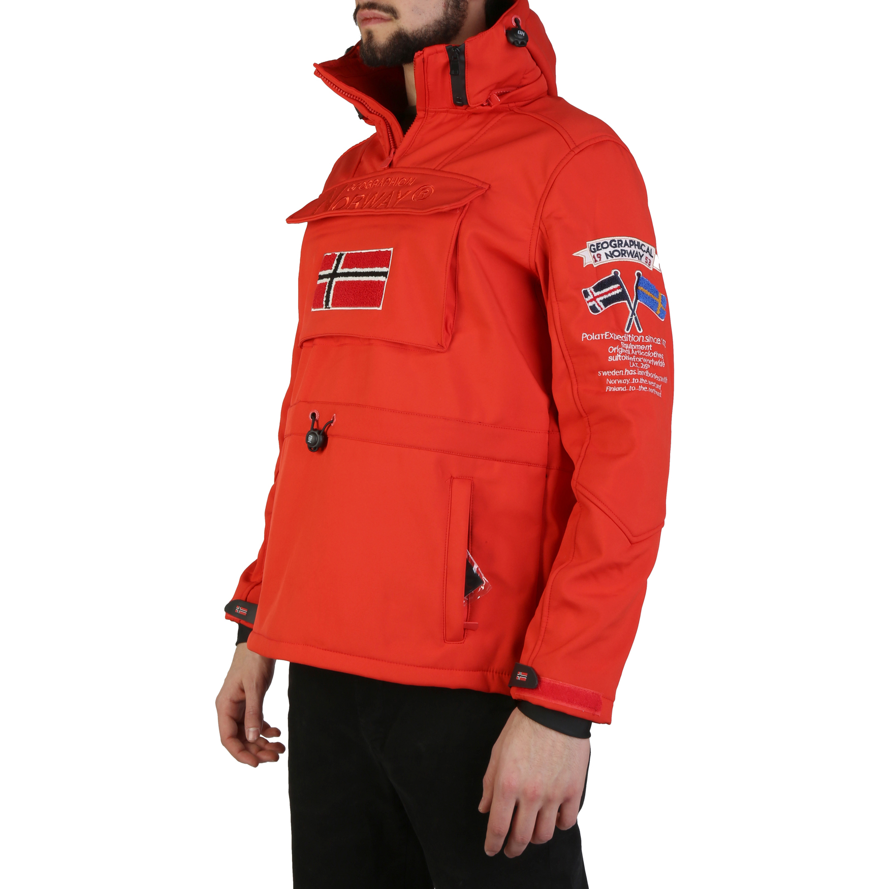 Vestes & blousons  Geographical norway Target_man red