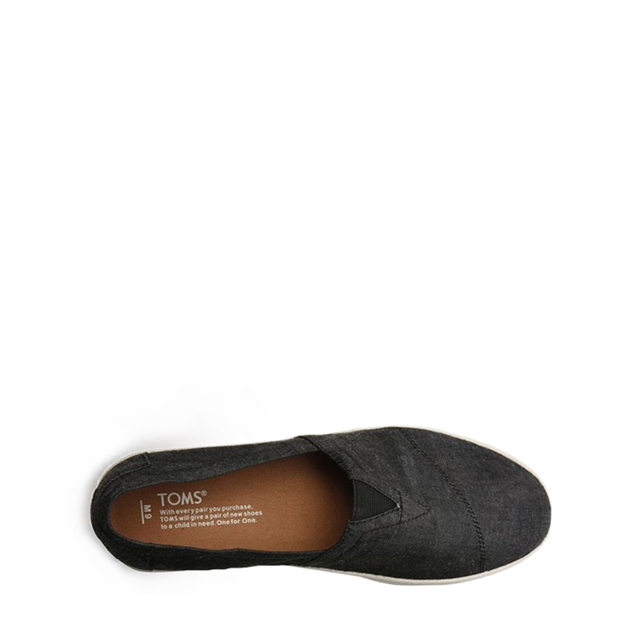 Tongs / Mules  TOMS CHAMBRAY_10007924 grey