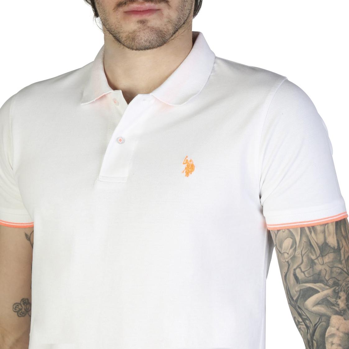 Chemises manches courtes  U.S. Polo 52432_41029 white