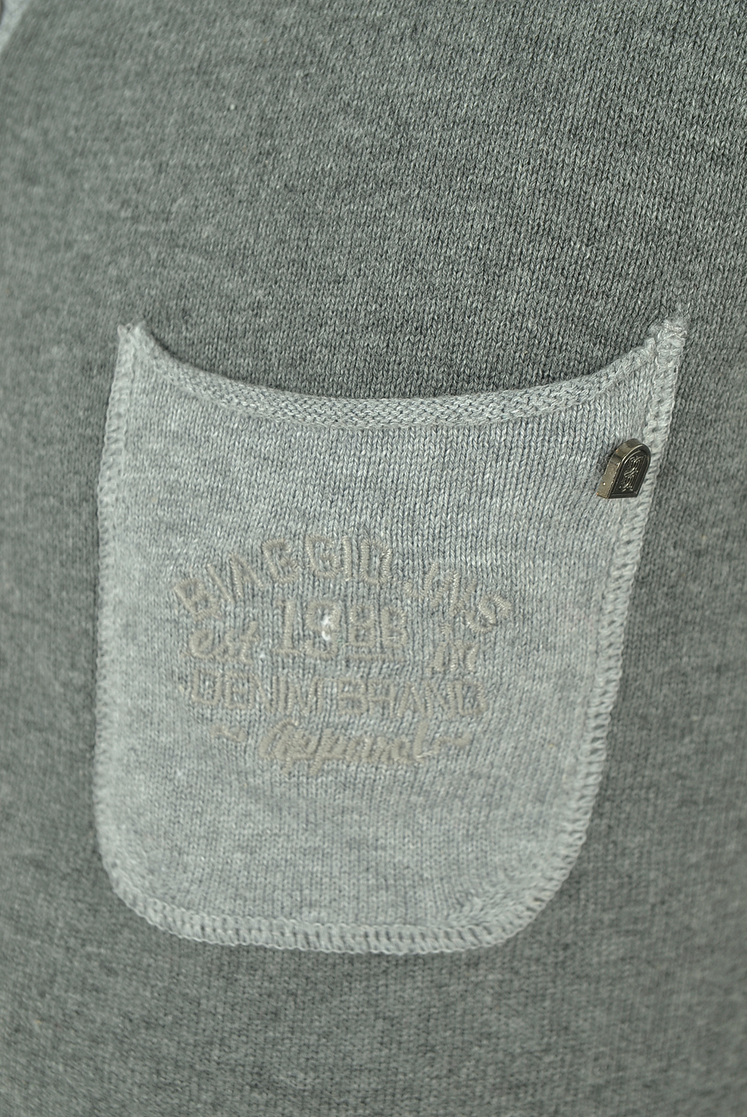 Pulls & Gilets  Biaggio jeans PRIOK GRIS FONCE