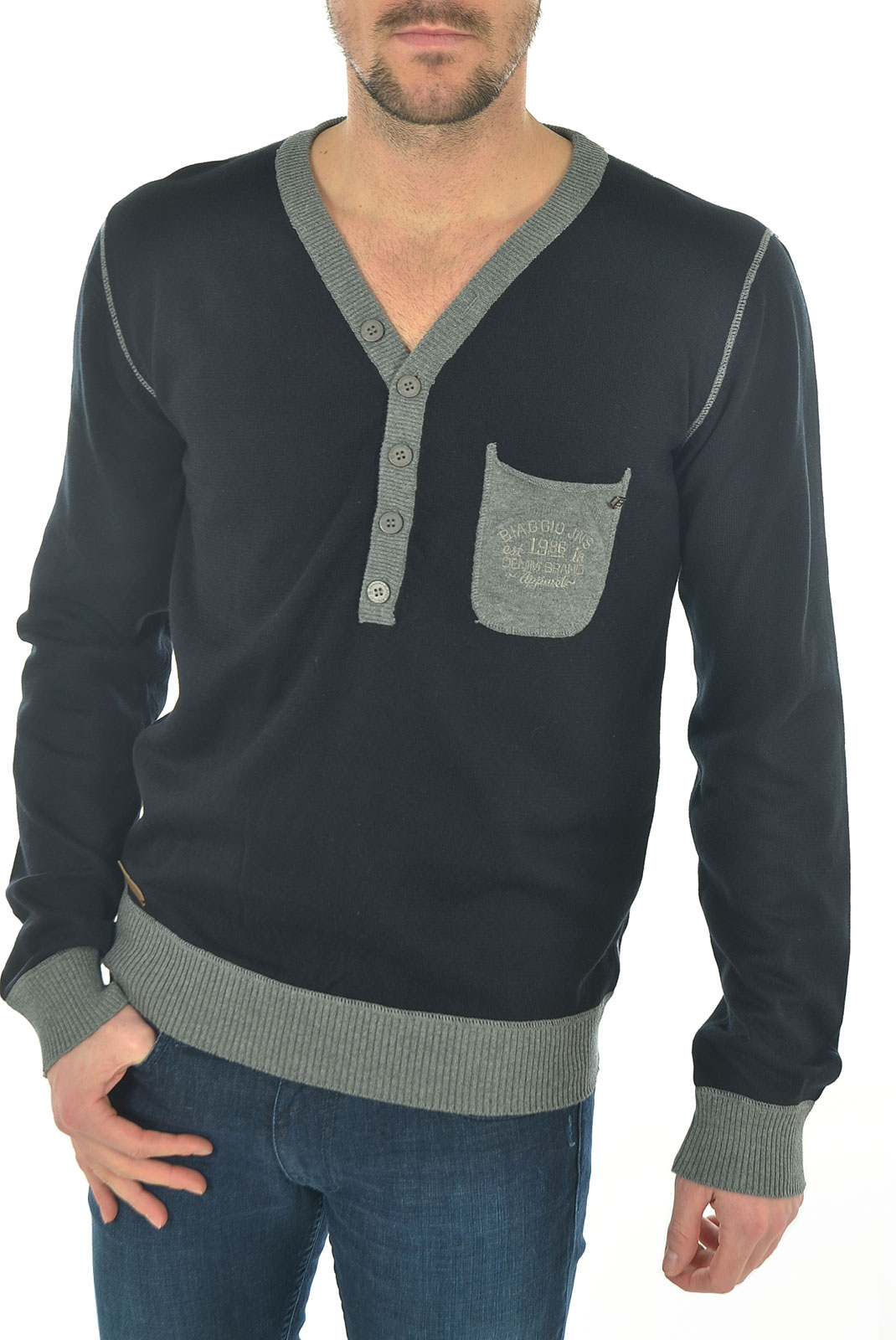 Pulls & Gilets  Biaggio jeans PRIOK NOIR