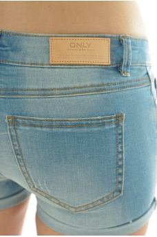 ONLY: CARRIE LOW DNM SHORTS BJ