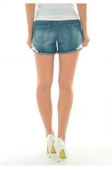 VERO MODA: PAULA NW LACE SHORT  GU023 PC7-14IM