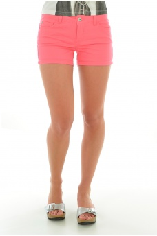 FEMME ONLY: NYNNE SOLID SHORTS PNT