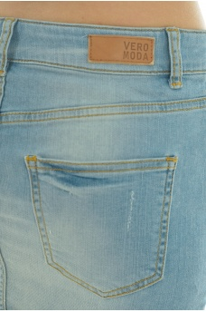VERO MODA: CANDY LW DENIM MINI SKIRT BA294