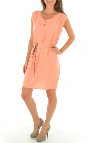 AMANDA S/L SHORT DRESS MIX IT - FEMME VERO MODA