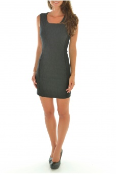 LEO S/L TIGHT DRESS - FEMME ONLY