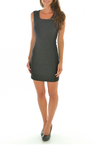 FEMME ONLY: LEO S/L TIGHT DRESS