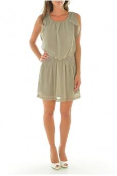 SMAILE S/S SHORT DRESS - FEMME VERO MODA