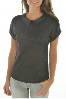 FEMME ONLY: PRINCESS ROCK S/S TOP JRS