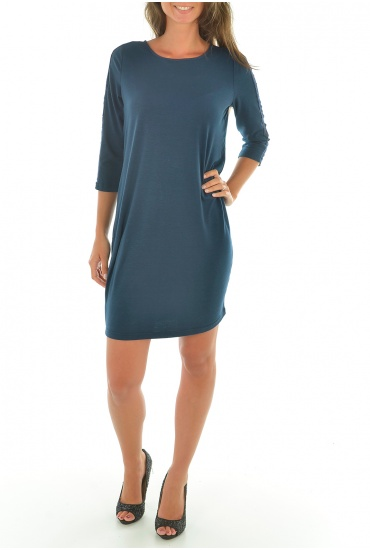 MARTA 3/4 SHORT DRESS - FEMME VERO MODA