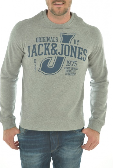 HOMME JACK AND JONES: RAFFA SWEAT HOOD/CREW