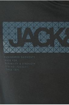 BARTO SWEAT HOOD CORE - HOMME JACK AND JONES