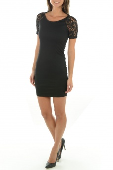 FEMME ONLY: DIVA S/S DRESS JRS