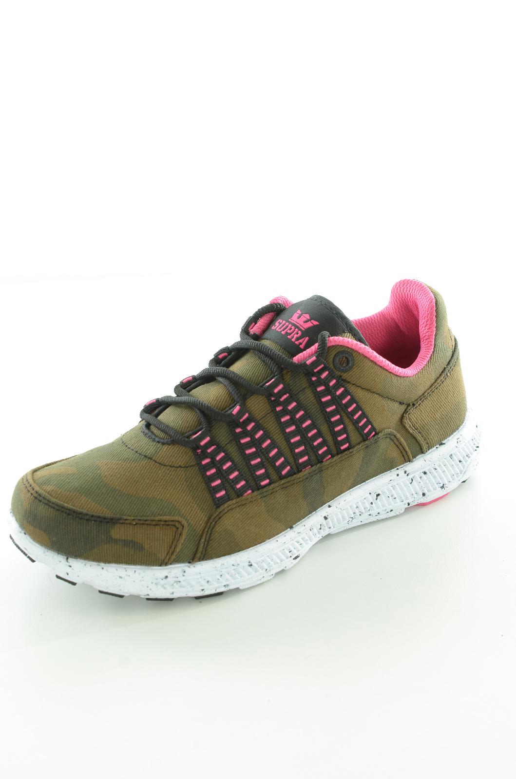 Chaussures  Supra WMNS OWEN CAMO/MAGENTA/WHITE