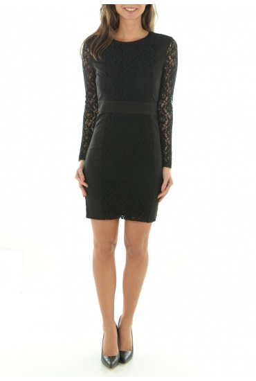 CHLOE L/S SHORT DRESS WVN - FEMME ONLY