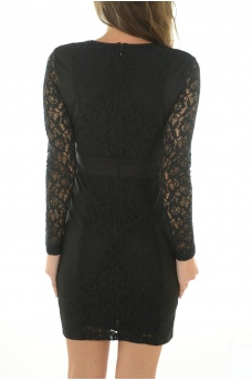 ONLY: CHLOE L/S SHORT DRESS WVN