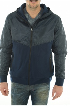 HOMME JACK AND JONES: LINE SWEAT ZIP HOOD