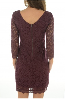 ONLY: PAULINE 4/5 LACE SHORT DRESS