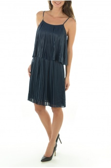 CLARISSE COATED DRESS WVN - FEMME ONLY