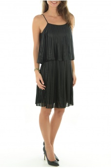FEMME ONLY: CLARISSE COATED DRESS WVN