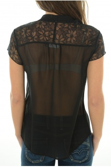 Soldes ONLY: ROMANA BOW LACE S/L TOP
