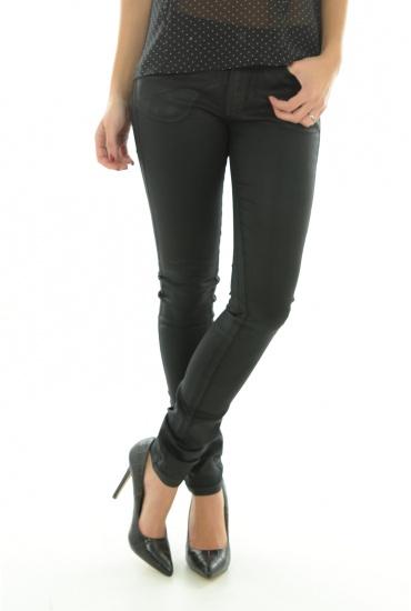 FEMME VERO MODA: BAY NW SLIM COATED PANTS