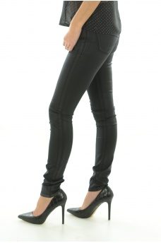 VERO MODA: BAY NW SLIM COATED PANTS