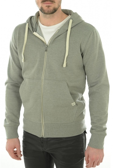 STORM SWEAT ZIP HOOD - HOMME JACK AND JONES