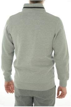 JACK AND JONES: TROOPER SWEAT ZIP  HIGH NECK