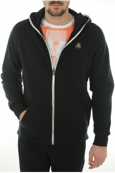 EDGE SWEAT ZIP HOOD - HOMME JACK AND JONES