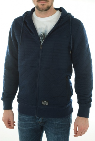 HOMME JACK AND JONES: NORD SWEAT ZIP  HOOD