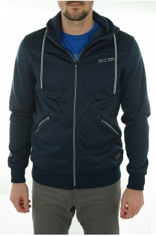 COROD SWEAT HOOD - HOMME JACK AND JONES