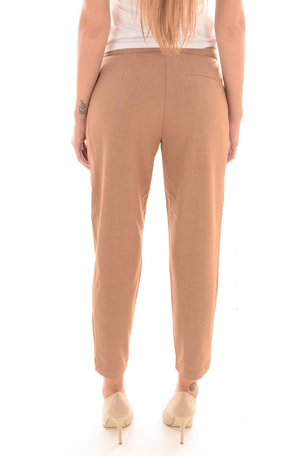 Pantalons  Vero moda VINCENT JOE NW ANGLE PANT A TOBACCO BROWN/MELANGE