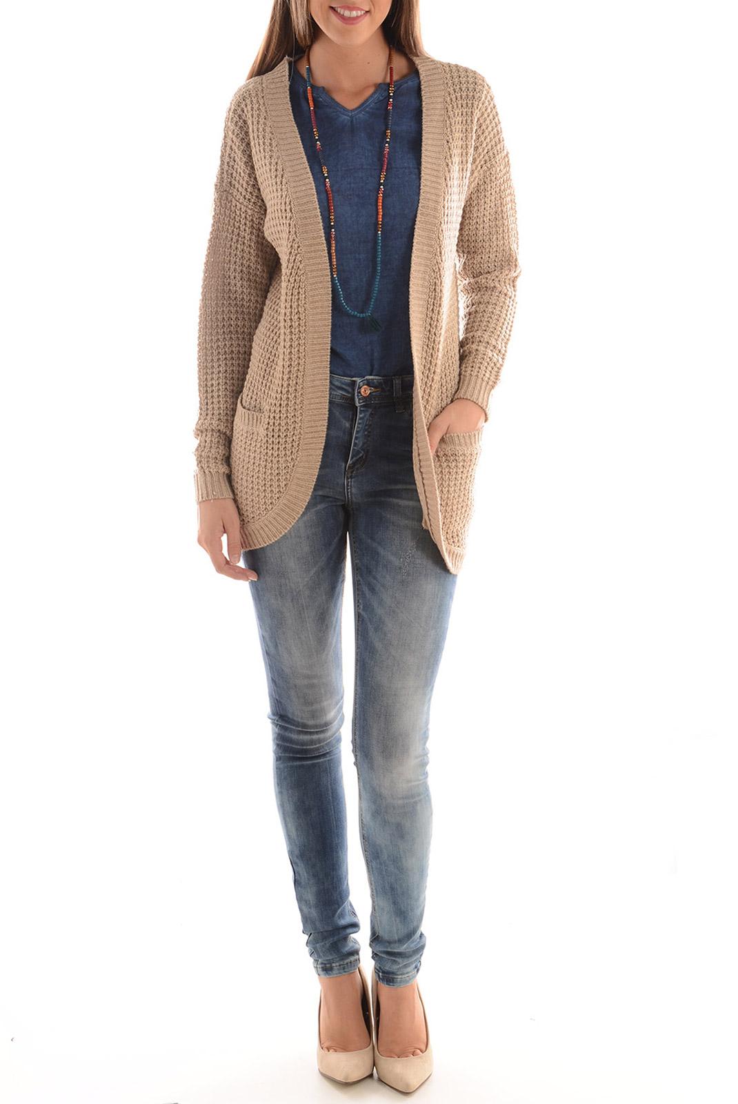 Jeans   Vero moda SEVEN NM SUPER SLIM MEDIUM BLUE DENIM