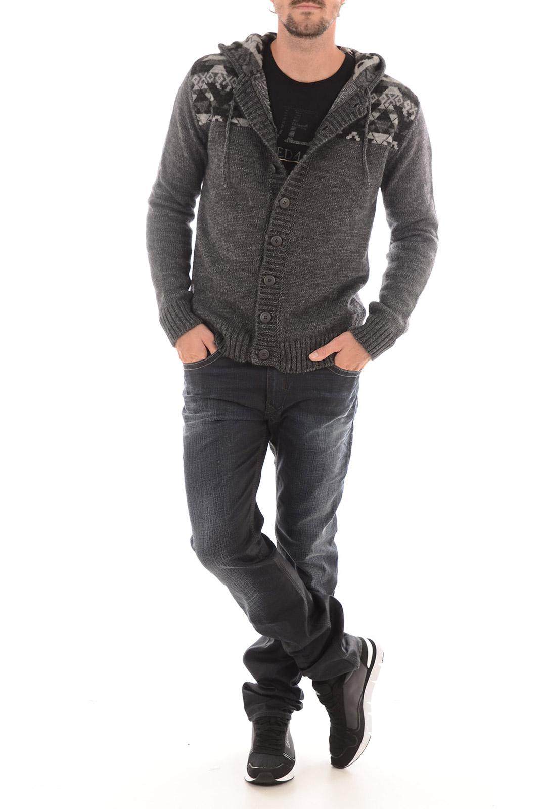 Pulls & Gilets  Guess jeans M53R52Z1580 M92 GRIS