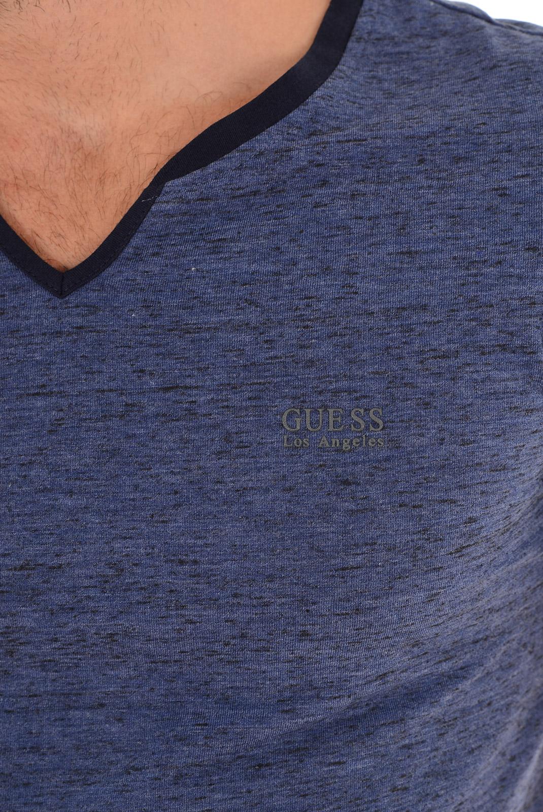Tee-shirts manches courtes  Guess jeans M53P65K3ZF0 H718 BLEU