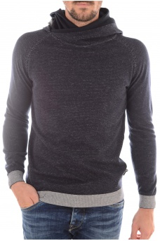 RICHARDO KNIT HOOD - HOMME JACK AND JONES