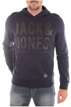 STRACK SWEAT HOOD - HOMME JACK AND JONES