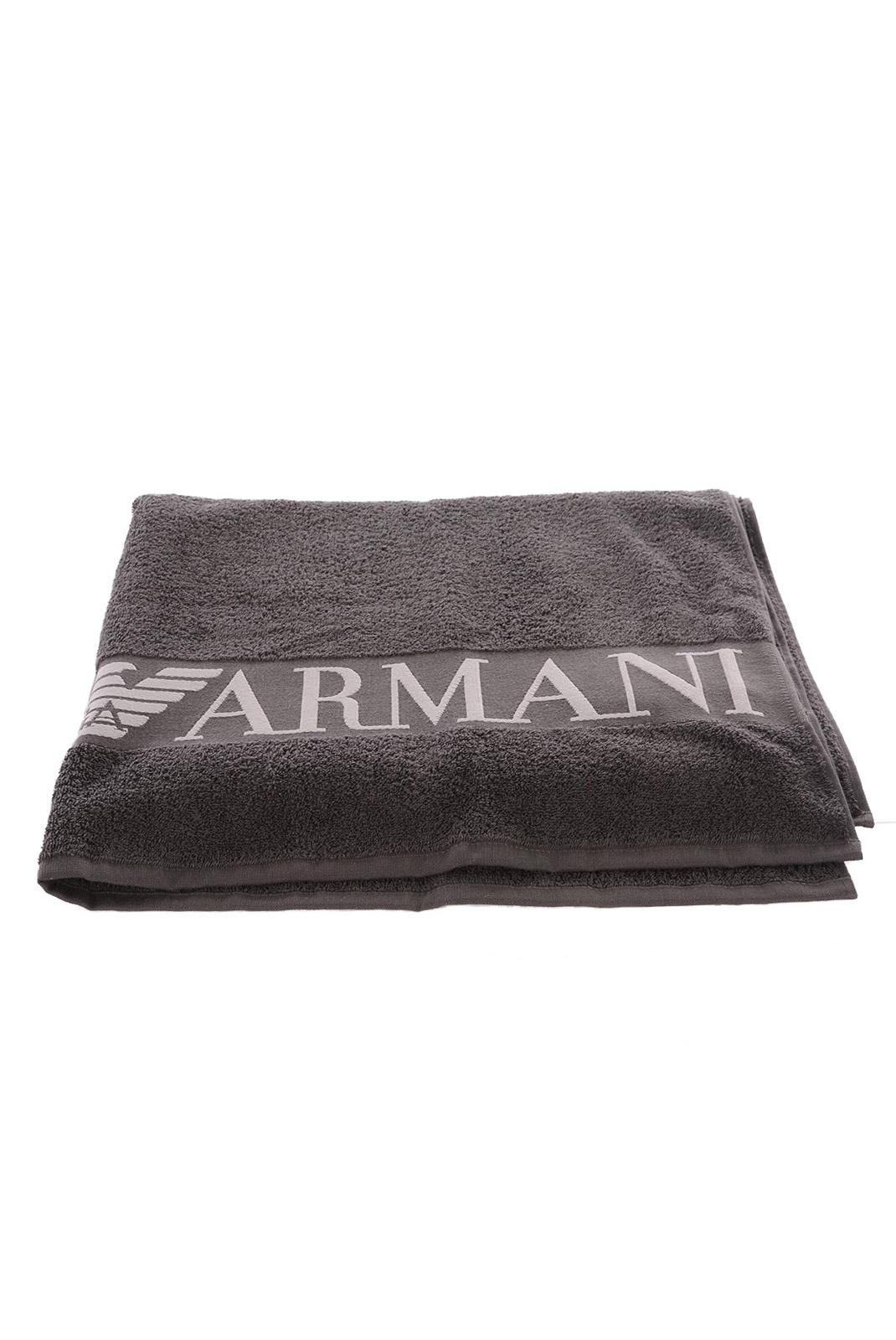 serviettes de bain homme emporio armani 211095 5p482 13343 greige. Black Bedroom Furniture Sets. Home Design Ideas